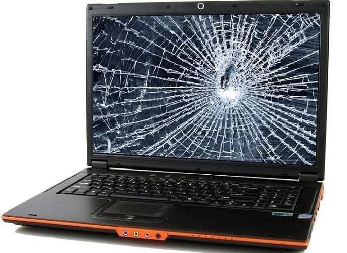Defecte laptop