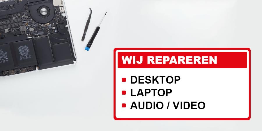 reparatie, laptop, desktop, computer