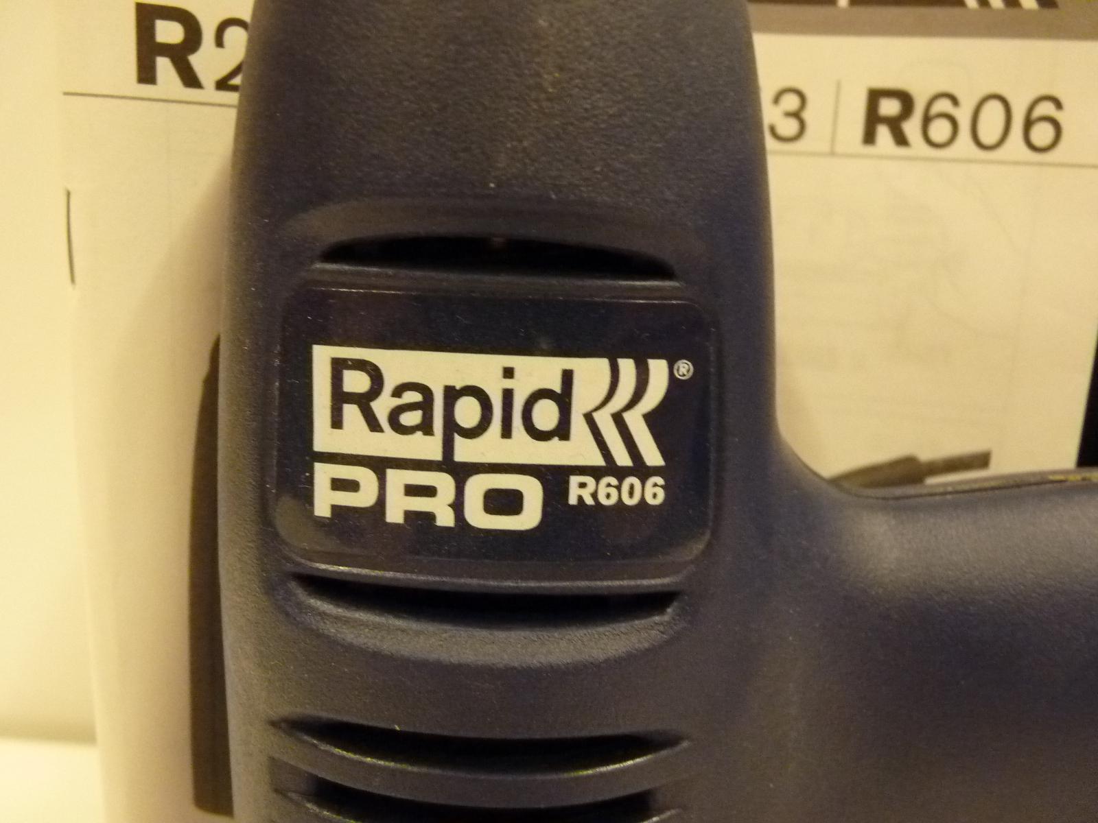 Rapid PRO R606 Elektrische Tacker