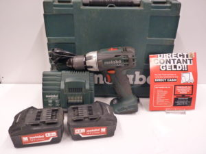Metabo BS18LT Accuschroefmachine