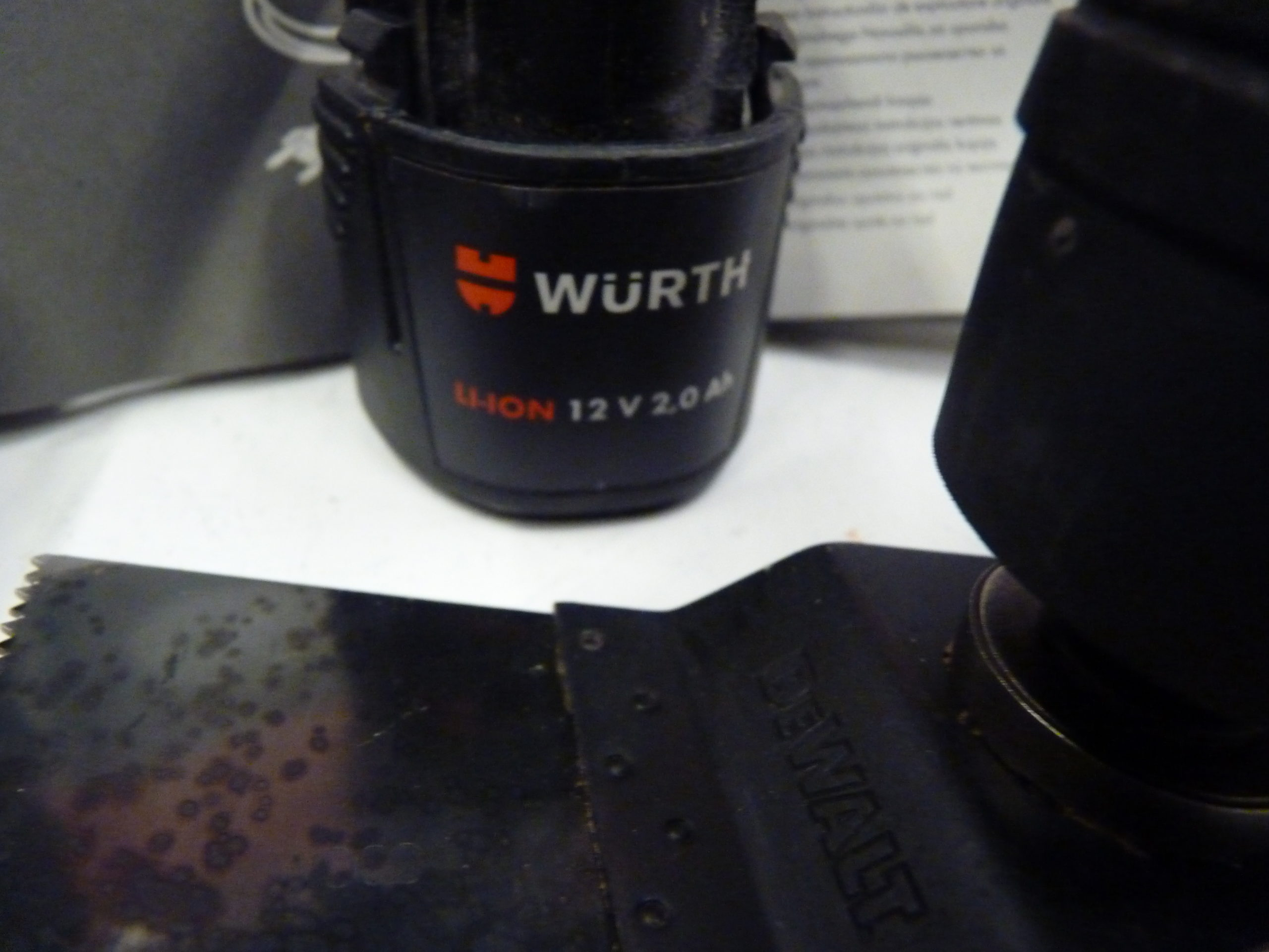 Wurth EMS 12-A Accu Multitool