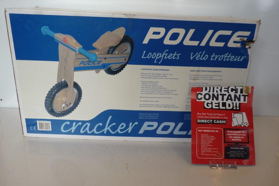 Loopfiets Hout Police