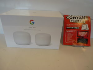Google Nest Wifi Router + Point